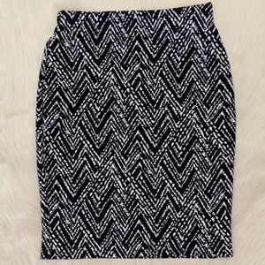 New York and Company stretch pencil skirt.